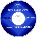 FORD DEXTA & SUPER DEXTA TRACTOR WORKSHOP MANUAL & PARTS LIST ON CD