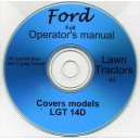 FORD TW-5, TW-15, TW-25 & TW-35 OPERATING MANUAL ON CD